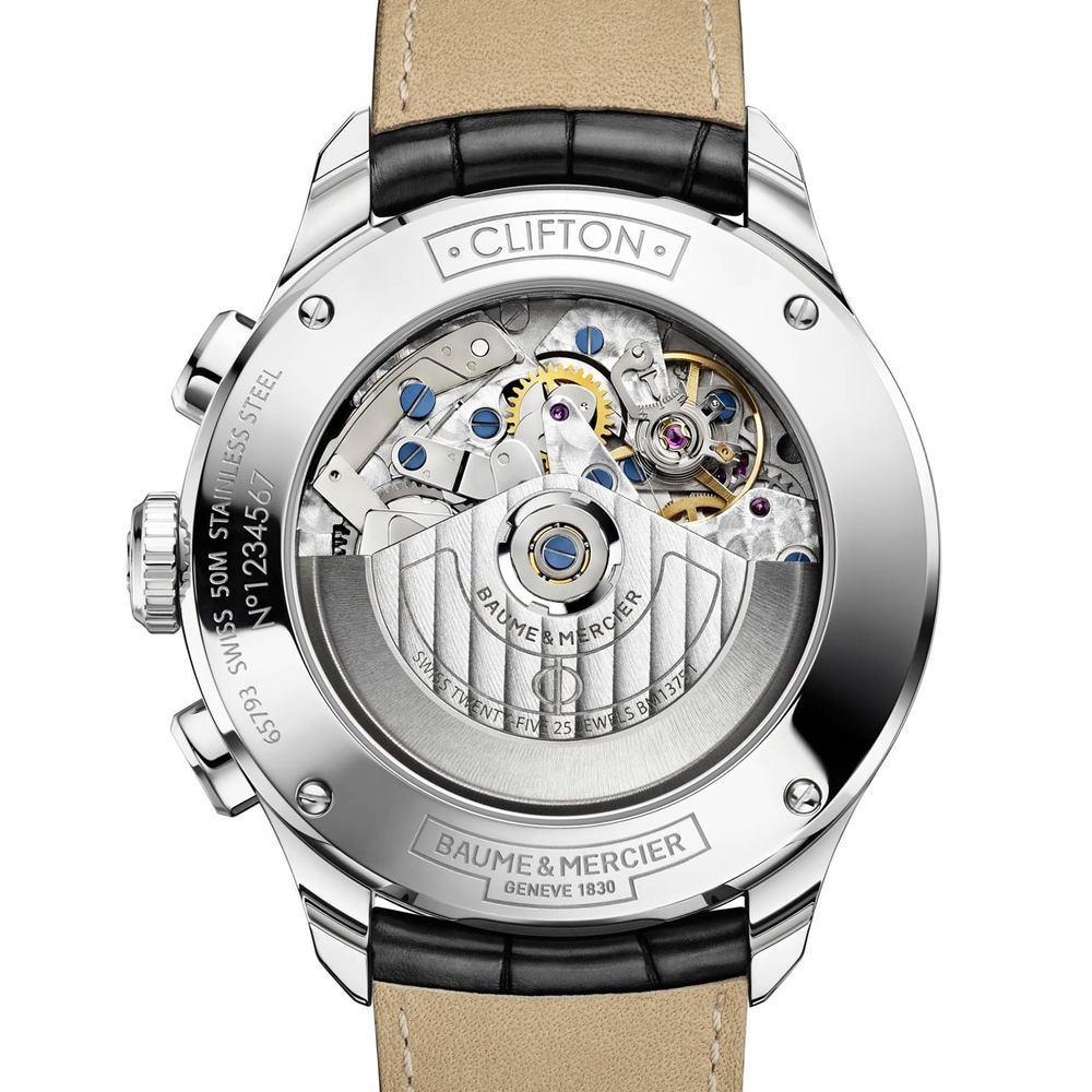 Baume-et-Mercier-Clifton-ChronographCalendar