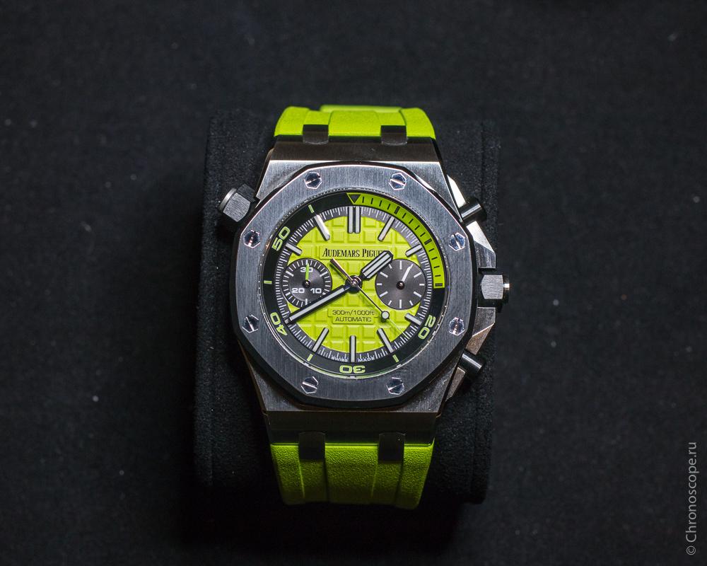 Audemars Piguet Royal Oak Offshore Diver Chronograph ref. 26703ST-2