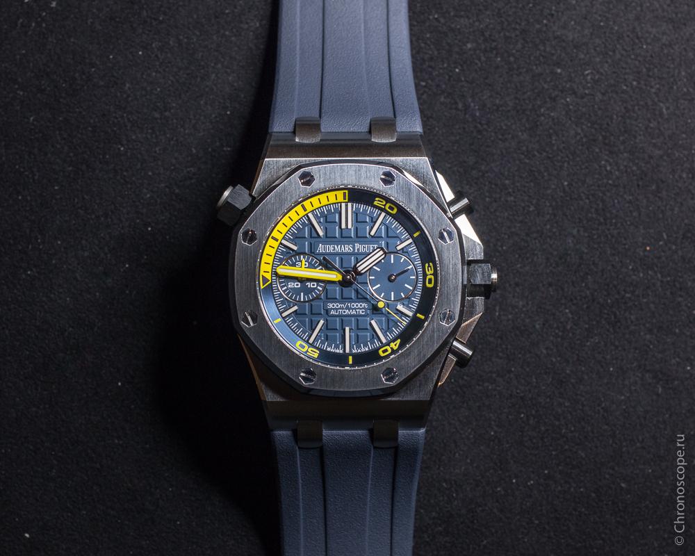 Audemars Piguet Royal Oak Offshore Diver Chronograph ref. 26703ST-3